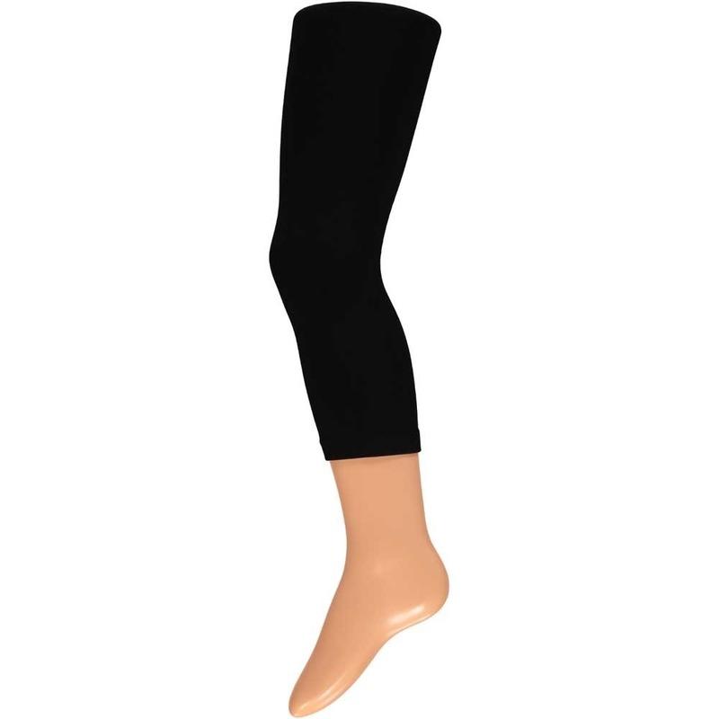 Zwarte thermo legging voor kinderen