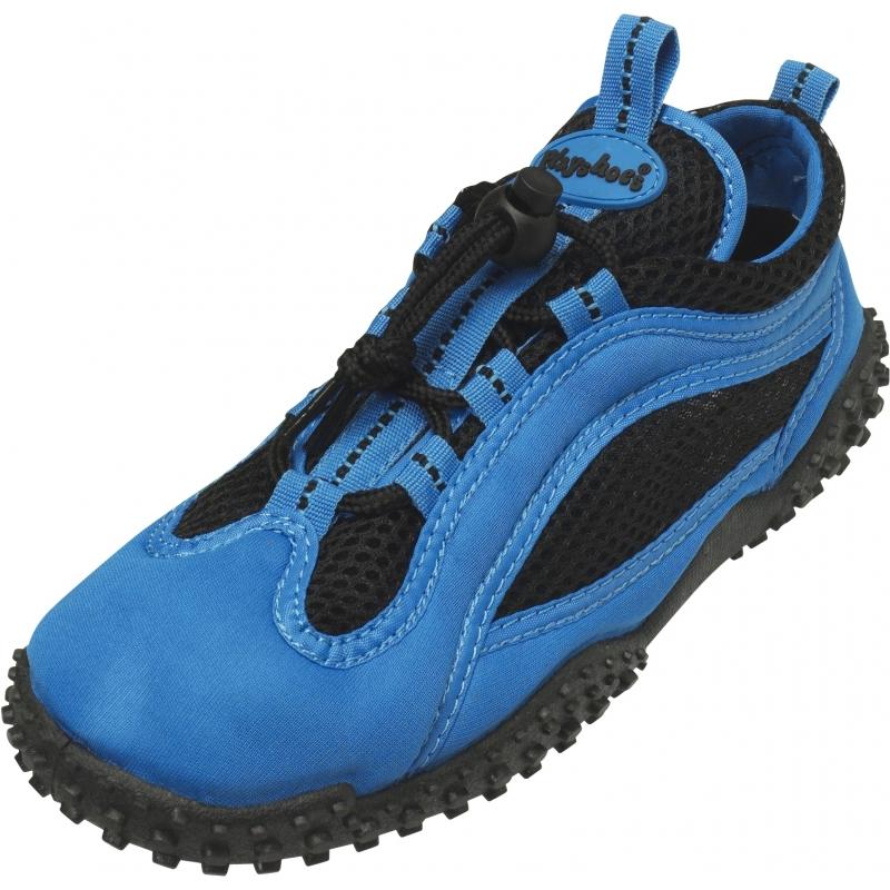 Zwemschoenen blauw/zwart UV bescherming