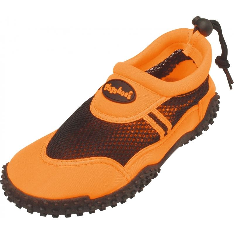 Zwemschoenen oranje met UV bescherming