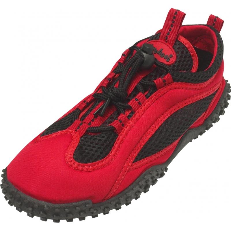Zwemschoenen rood UV bescherming